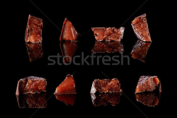 section of delicious chocolates candies Stock photo © artjazz