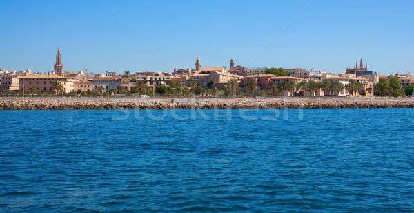 View of Mallorca city Stock photo © artjazz