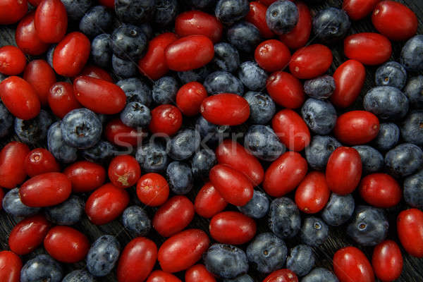 different fresh berries as background Stock photo © artjazz