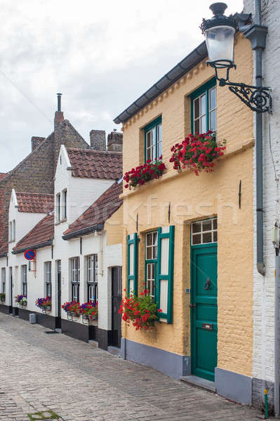 Beautiful Architecture of Bruges Stock photo © artjazz