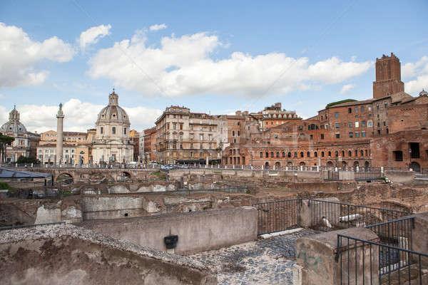 şehir tarihsel yer görmek Roma Stok fotoğraf © artjazz