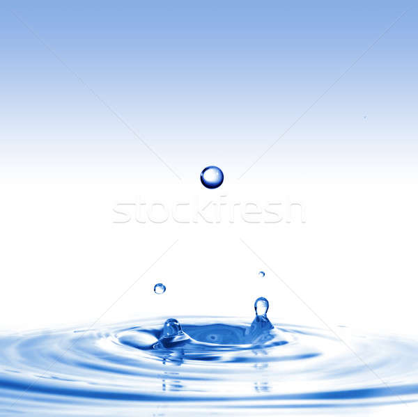 Foto stock: Agua · diseno · fondo · espacio · ola