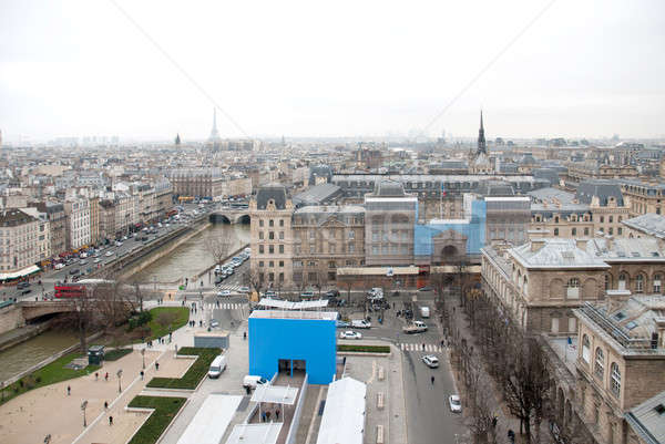 Stok fotoğraf: Nehir · Eyfel · Kulesi · Fransa · Paris · panoramik