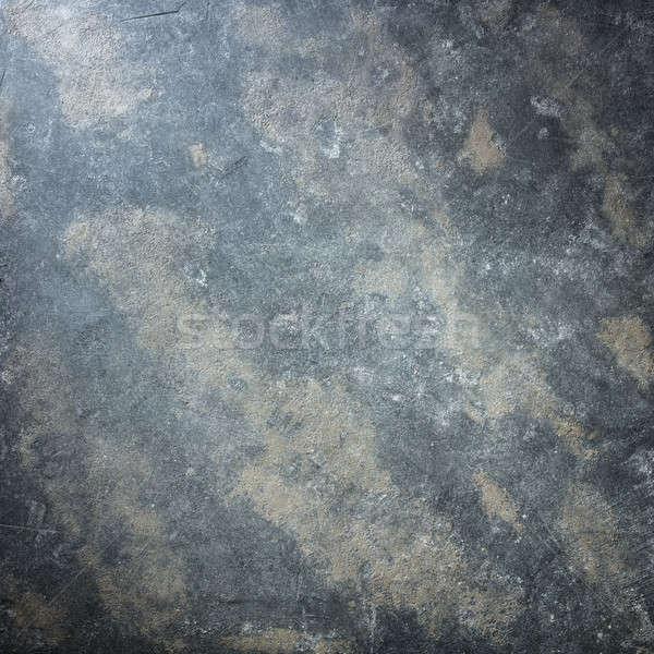 Granito oscuro gris textura naturaleza luz Foto stock © artjazz