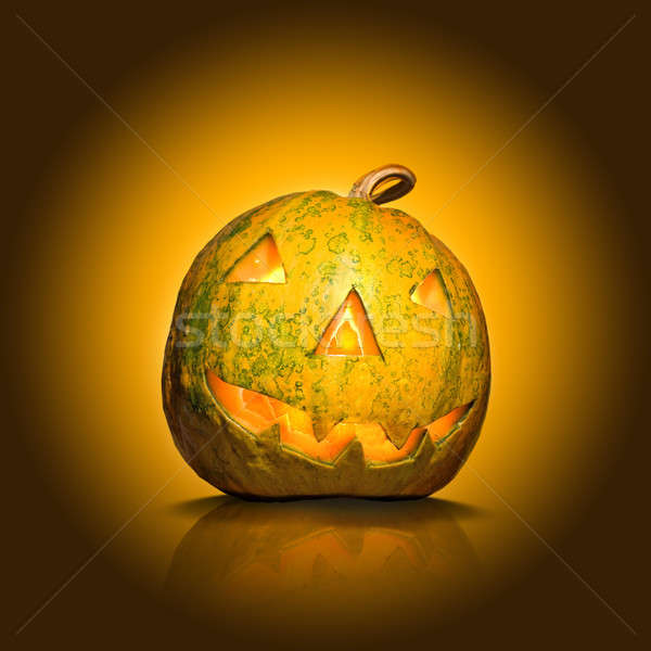 halloween pumpkin Stock photo © artjazz