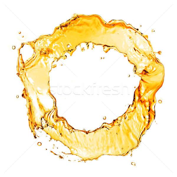 Stockfoto: Geïsoleerd · witte · water · textuur · abstract