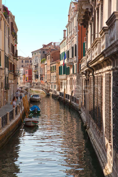 Venice canal Stock photo © artjazz