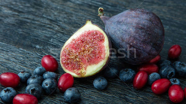 berries and figs Stock photo © artjazz