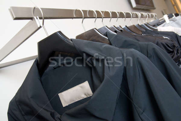 Vêtements magasin mode résumé design fond Photo stock © artjazz