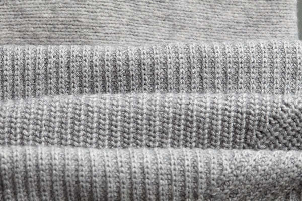 Close up of folded white knitwear Stock photo © artjazz