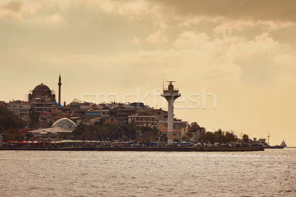 Stock photo: View of the city of Istanbul, Turkey