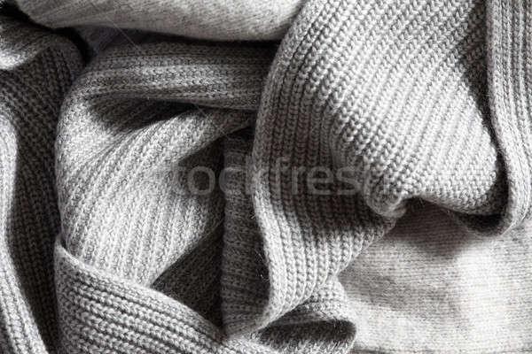 Textile knitted background Stock photo © artjazz
