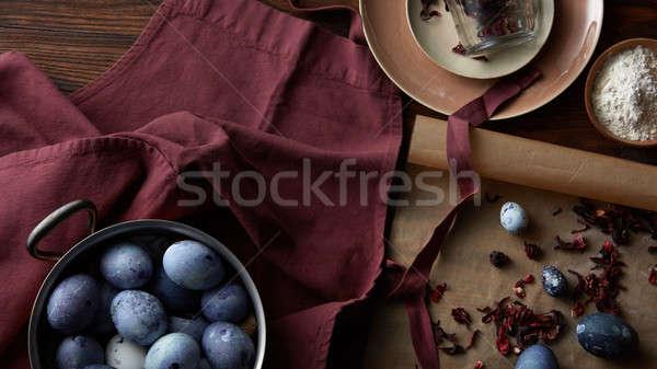 Preparation for Easter Stock photo © artjazz