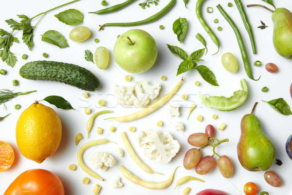 Ingredients for Salad Stock photo © artjazz