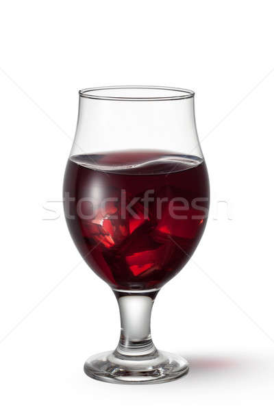 Sangria drink isolated on white background Stock photo © artjazz