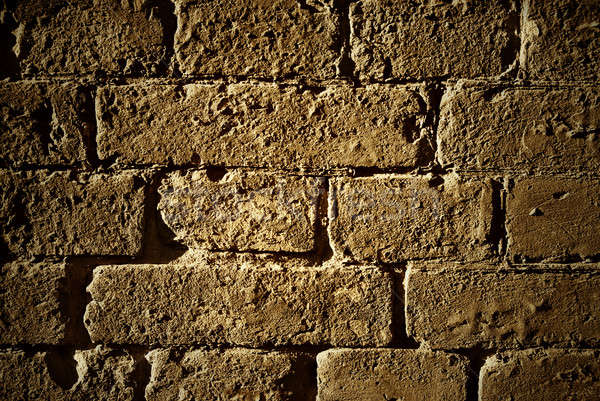 Grunge old bricks wall texture Stock photo © artjazz