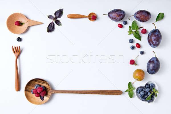 белый продовольствие природы Сток-фото © artjazz