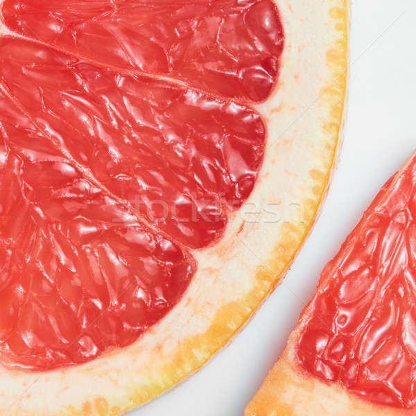 Abstract red background with citrus-fruit Stock photo © artjazz