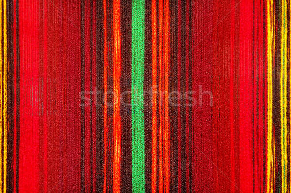 color stripped cane cloth texture Stock photo © artjazz