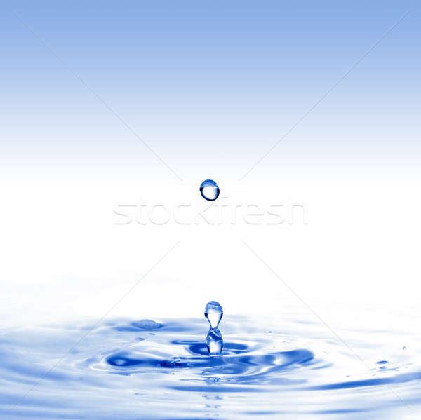Agua diseno fondo espacio ola Foto stock © artjazz
