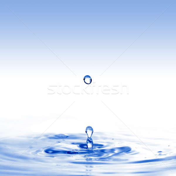 água projeto fundo espaço onda Foto stock © artjazz