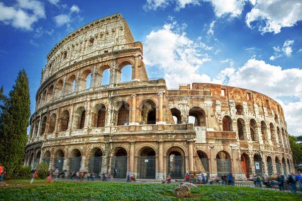 Colosseum in Rome, Italy Stock photo © artjazz