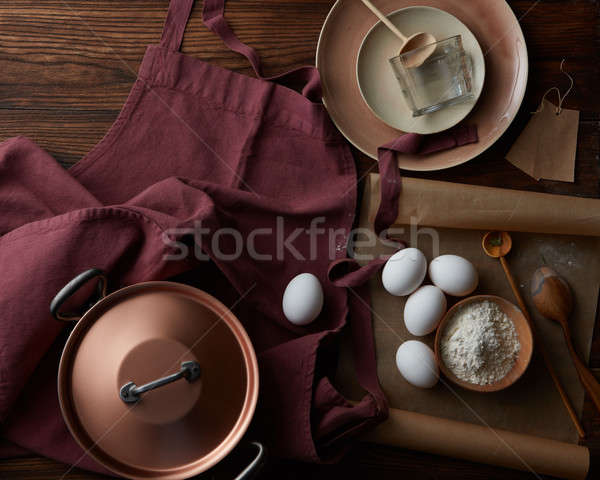 Kitchen devices and means for cooking Stock photo © artjazz