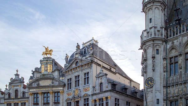 Ornate buildings of Grand Place, Stock photo © artjazz