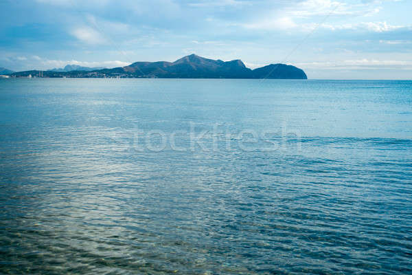 Mallorca lata praia Espanha belo ver Foto stock © artjazz
