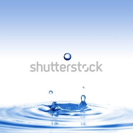 Geen beschrijving water ontwerp achtergrond ruimte Stockfoto © artjazz