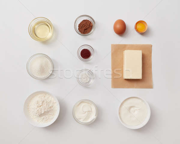 Ingredients for baking or cooking Stock photo © artjazz