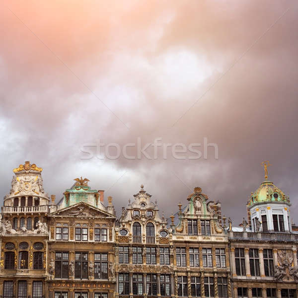 Grand Place, Brussels, Belgium Stock photo © artjazz