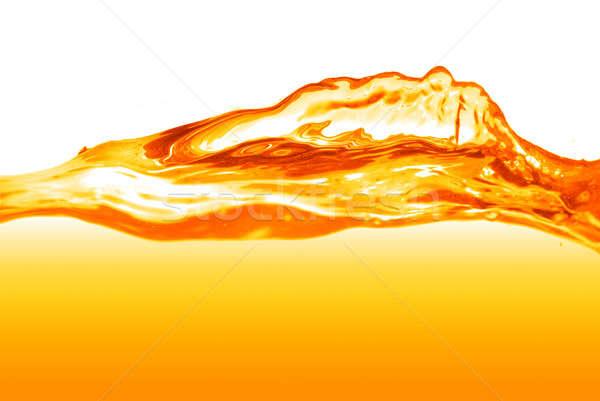 Pomarańczowy odizolowany biały tekstury wina Zdjęcia stock © artjazz