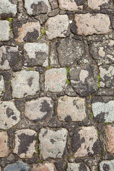 stone paving texture Stock photo © artjazz