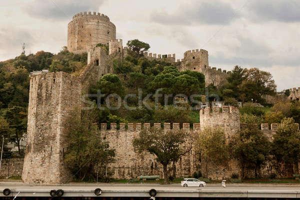 Rumeli Fortress in Istanbul, Turkey. Stock photo © artjazz