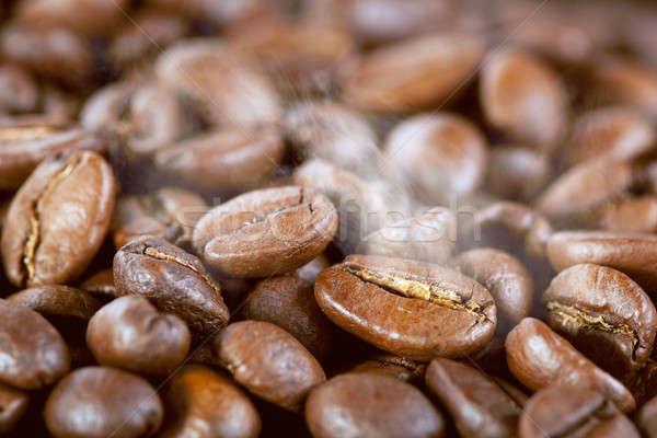 кофе пар текстуры продовольствие кофе Сток-фото © artjazz