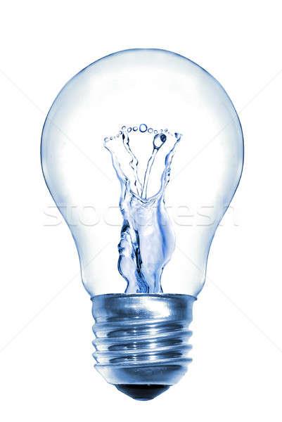 Сток-фото: энергии · воды · изолированный · белый · аннотация