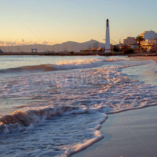 Balearic Islands in Spain Stock photo © artjazz
