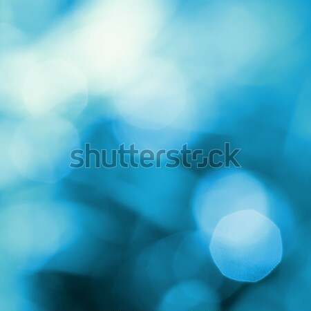 abstract blue natural backgound Stock photo © artjazz