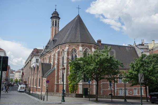 Chiesa uno chiese Bruxelles Belgio fratelli Foto d'archivio © artjazz