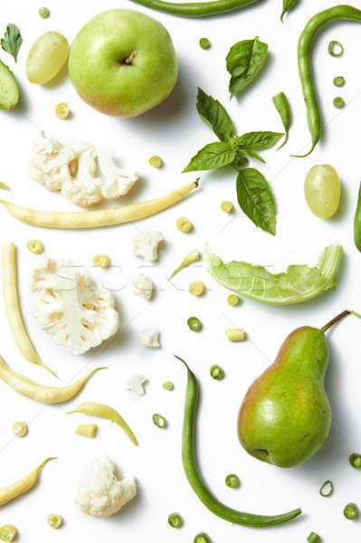 精進料理 便利 緑 野菜 白 ストックフォト © artjazz