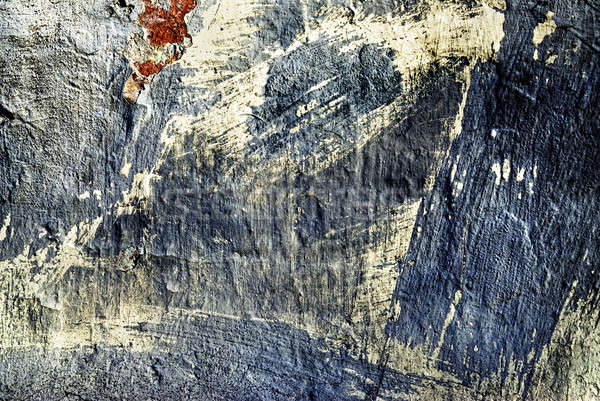 Texture vieux stuc mur fissures construction Photo stock © artjazz