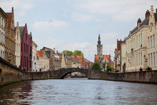 View of Bruges, Belgium Stock photo © artjazz