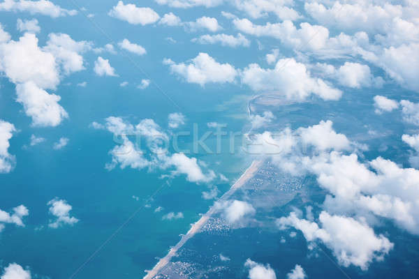 top view of the clouds, background Stock photo © artjazz