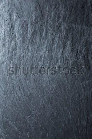 Black slate background  Stock photo © artjazz