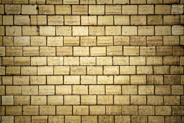 Alten Steine Wand Textur Bau Hintergrund Stock foto © artjazz