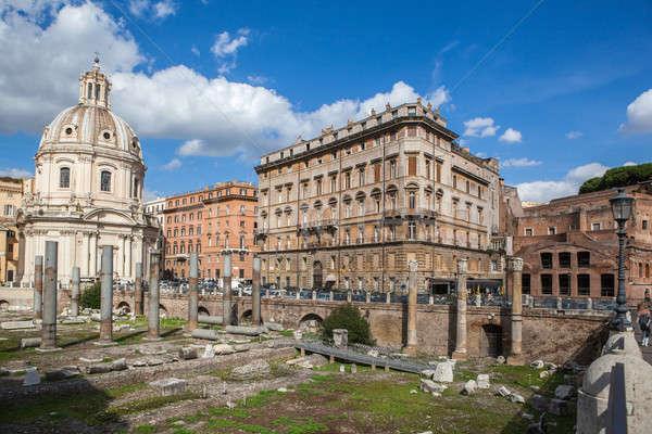 市 表示 ローマ フォーラム フォーカス ストックフォト © artjazz