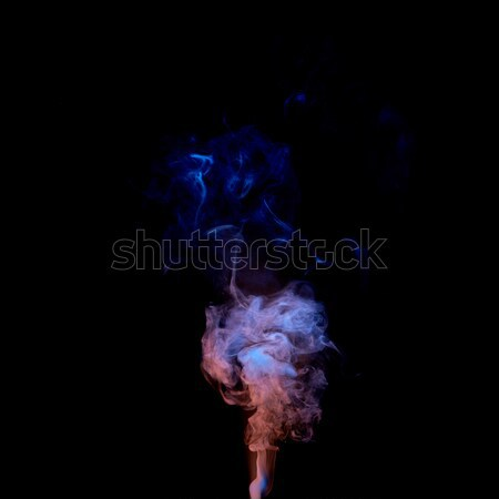 abstract design of colored smoke Stock photo © artjazz