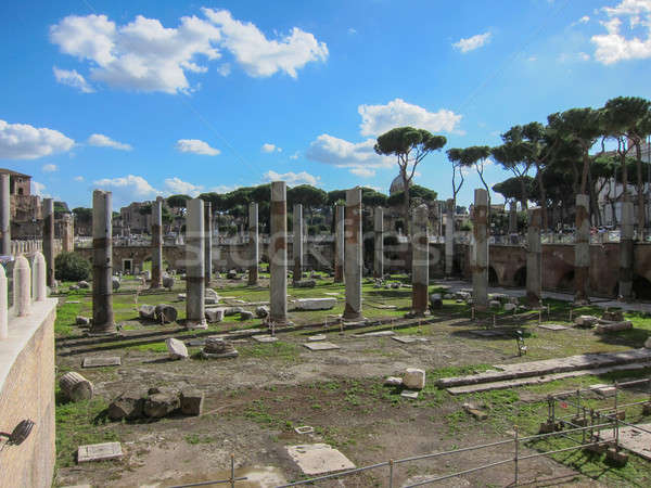 Roman ruins in Rome, Italy Stock photo © artjazz