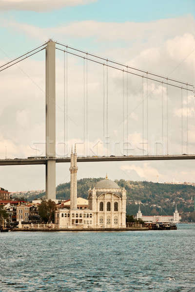 Bosphorus Bridge Turkey Istanbul Stock photo © artjazz